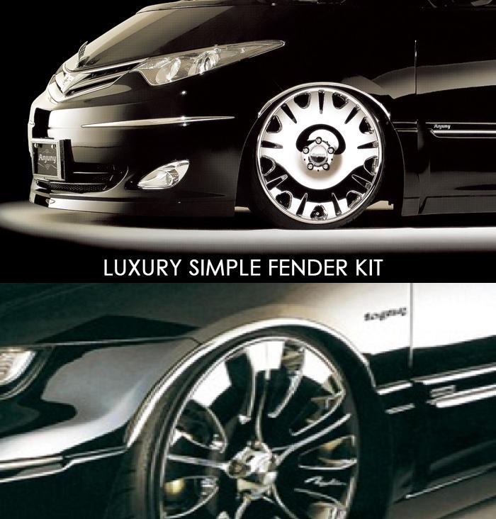 Anjuny Luxury Simple Fender Kit