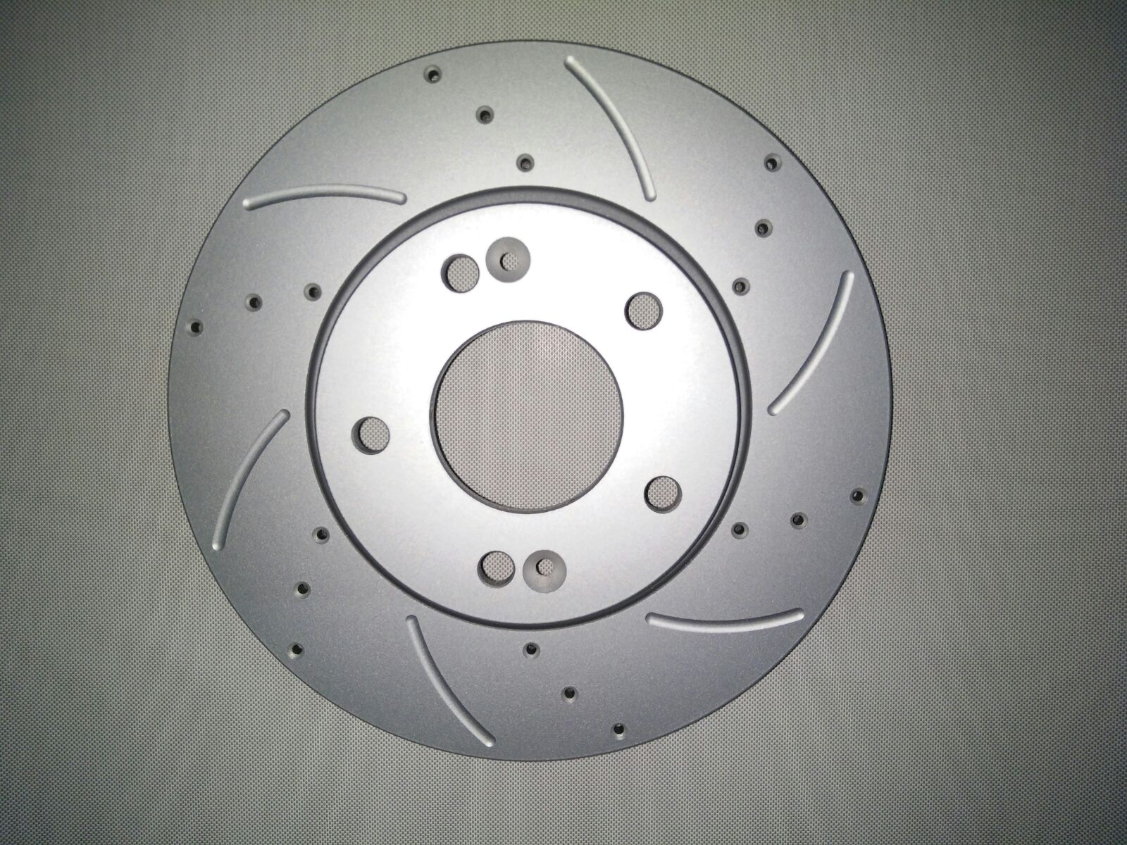DJ Parts Slotted/Dimpled Brake Rotors