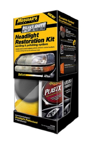 Meguiar's Heavy Duty Headlight Restoration Kit G3000