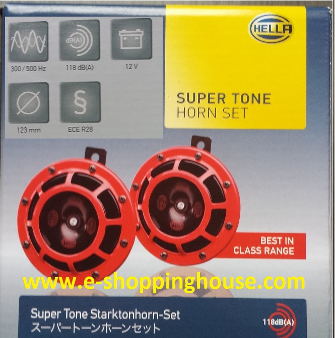 Hella Super Tone Horn Set