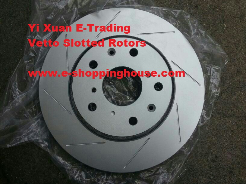 Honda Civic 282mm Front Rotor + Brake Pad