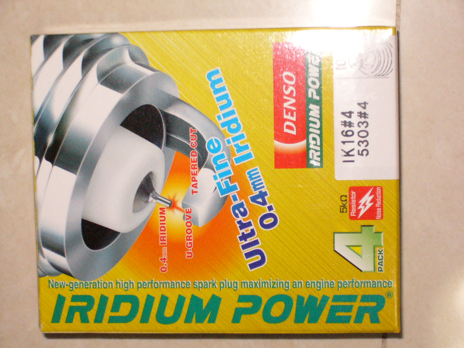 Denso Iridium Power IXU22
