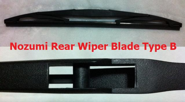 "Nozumi 12"" Rear Wiper Type B"