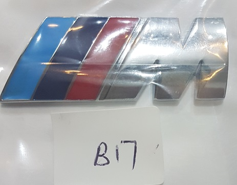 BMW M Chrome Emblem