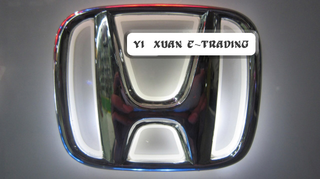 Honda Base Badge (White Illuminated)