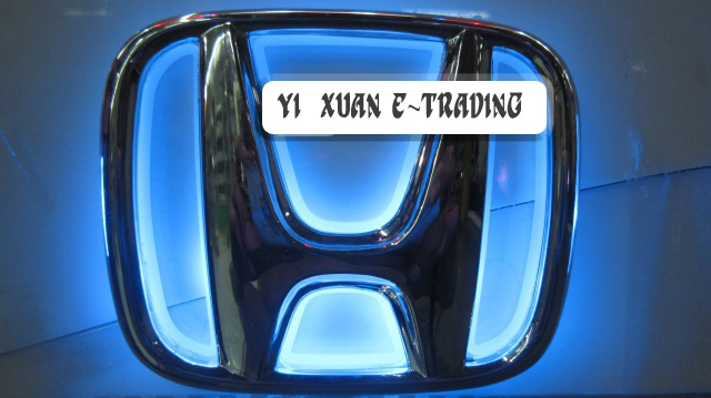 Honda Base Badge (Blue Illuminated)