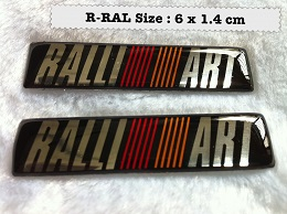 Ralliart Emblem (Rubber Coated)