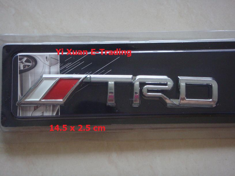 TRD Alloy Emblem (Big)