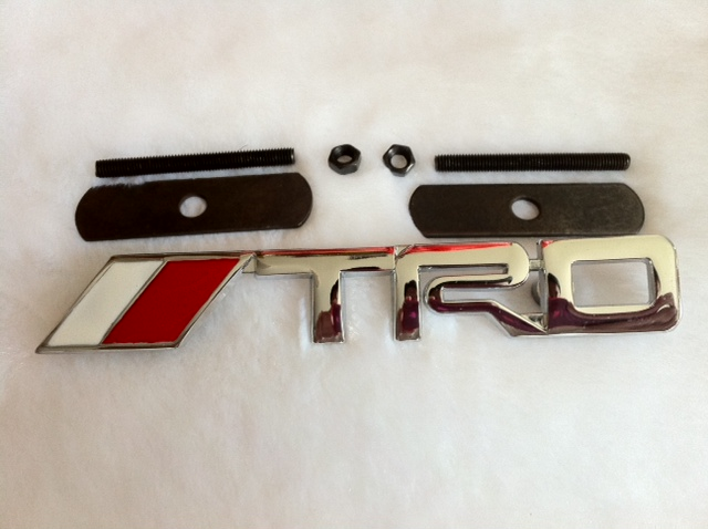 TRD Alloy Grille Emblem (Screw-on)