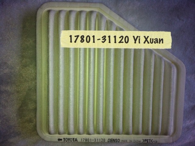 Rav 4 2.4 2006-on Air Filter
