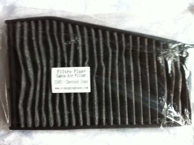 Epica 2005-on Carbon Aircon Filter