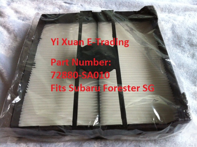 Forester SG Standard Aircon Filter