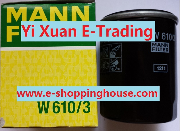 Mann Oil Filter for Honda