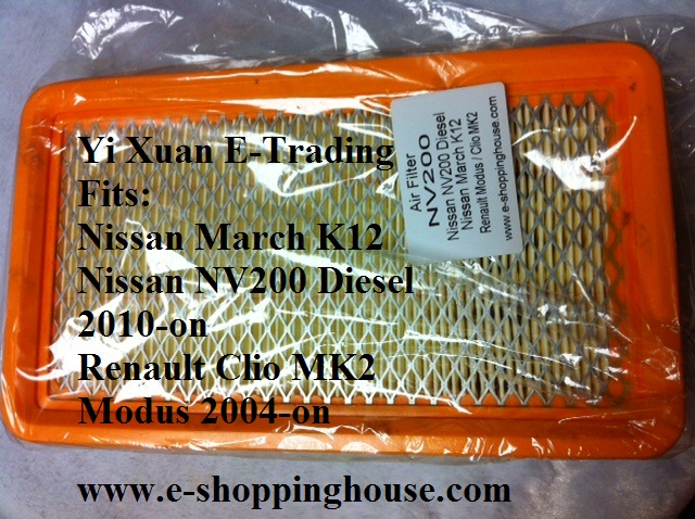 NV200 Diesel 2010-on Air Filter