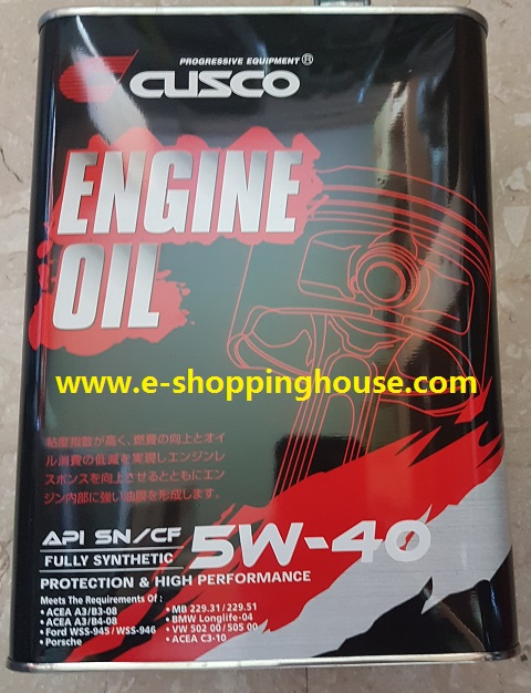 Cusco Japan 5w-40 Full Syn Engine Oil