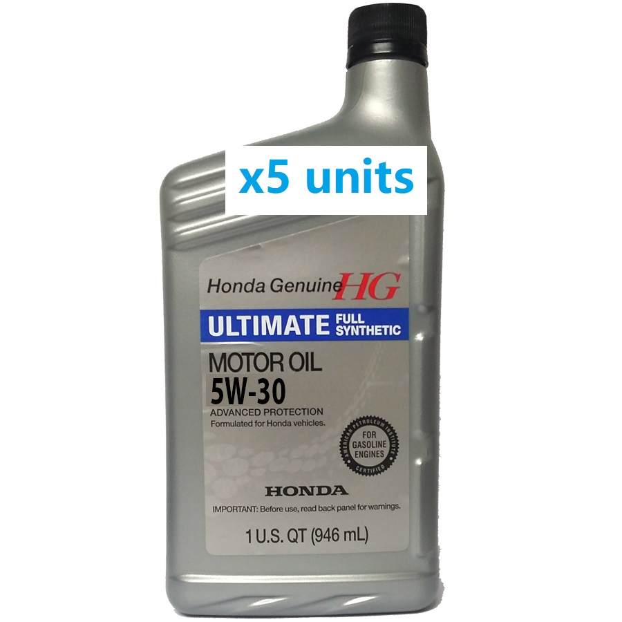 Honda Ultimate 5w-30 Fully Synthetic