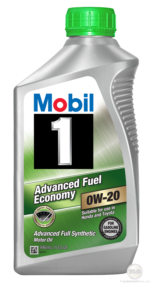 Mobil 1 Advanced Fuel Economy 0w-20 1qt