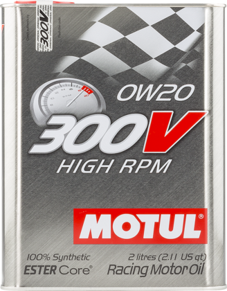 Motul High RPM 0w-20 Fully Synthetic Engine Oil 2L