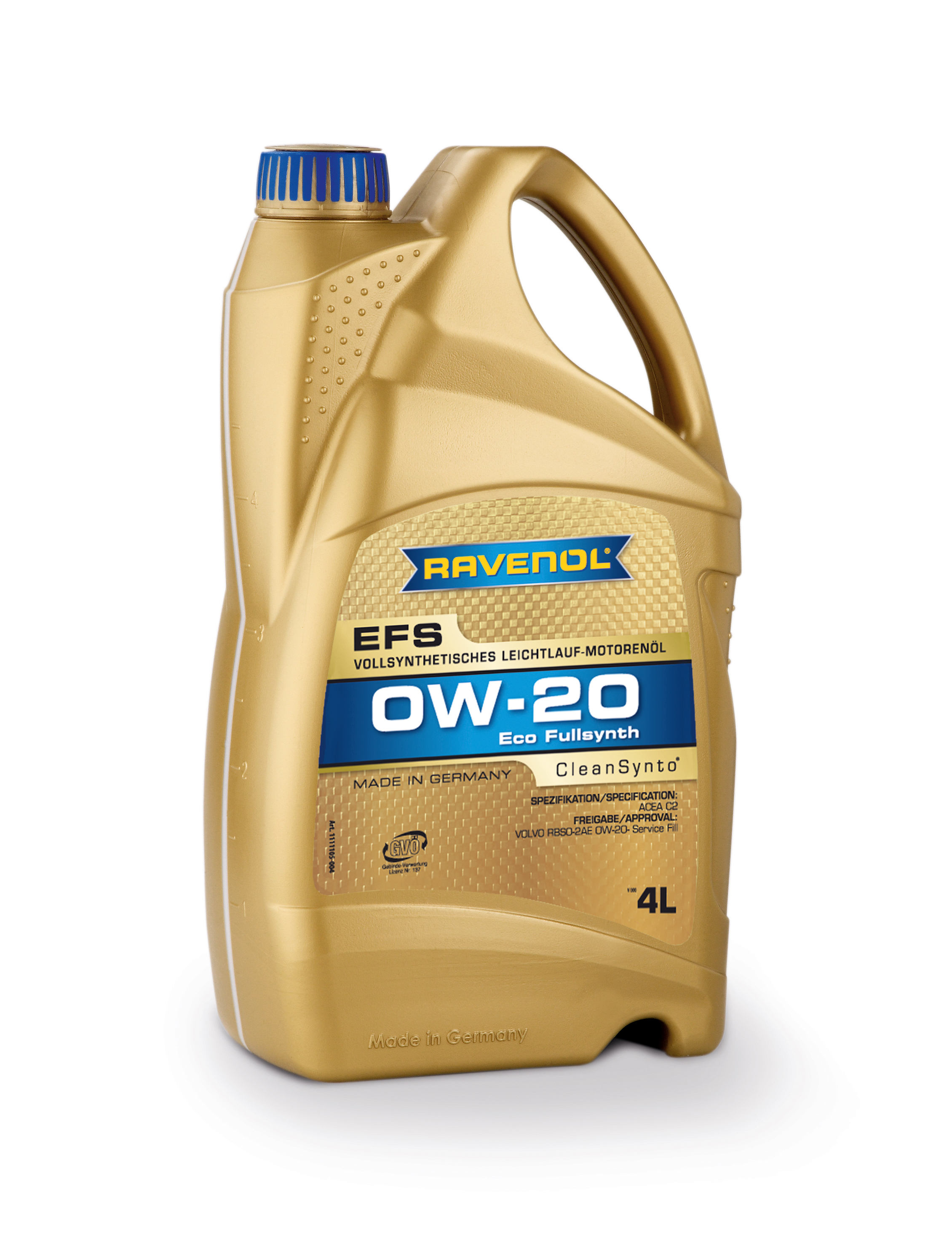 Ravenol EFS 0w-20 Fully Synthetic 4L