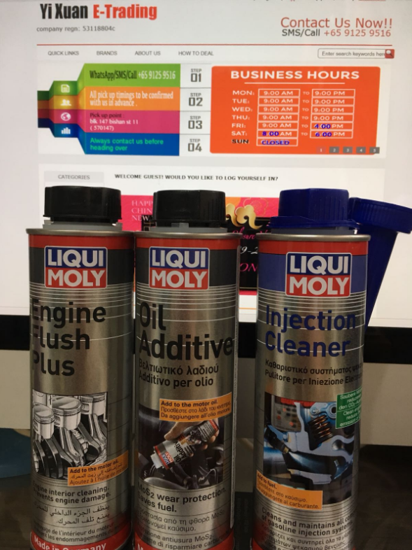 Lube Oil Additives & Flush : Yi Xuan E-Trading, Trust Us to