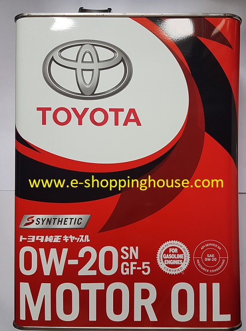 Toyota 0w-20 Synthetic 4L